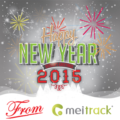 Happy 2015 from Meitrack
