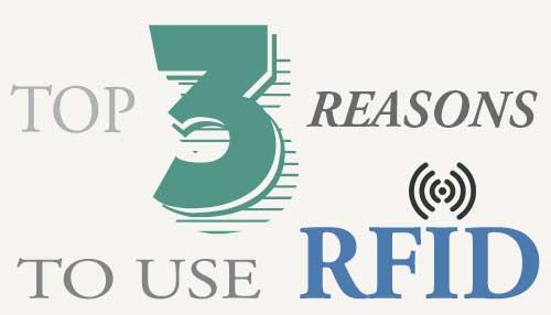 3 razones para usar RFID