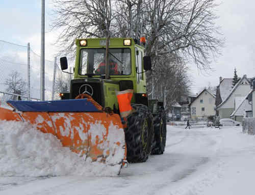 Meitrack Helps Snow Plowing Businesses